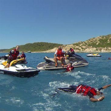 Randonnée en Jet Ski à Fréjus sur la Côte d'Azur