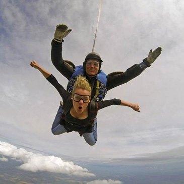 saut en parachute jeumont