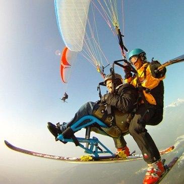 Parapente à Ski, département Vaud