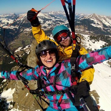 Parapente à Ski en région Suisse