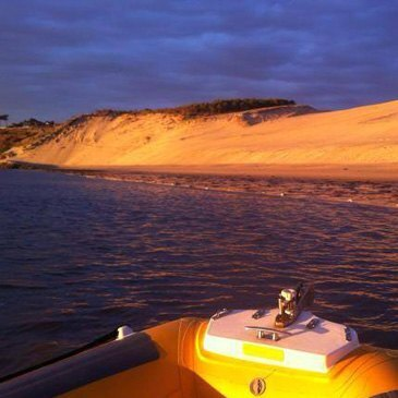 Balade Privative en Speed Boat au Coucher du Soleil à Arcachon