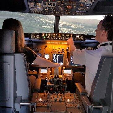 Simulateur de Pilotage en Boeing 737 proche de Metz