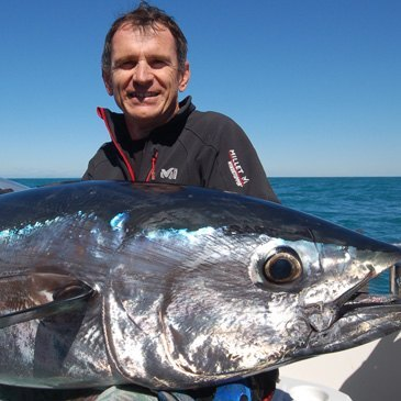Pêche au gros sur la Côte Bleue près de Marseille