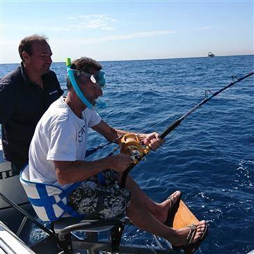 Pêche au gros proche Fos-Martigues