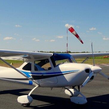 Pilotage d'ULM Multiaxe près de Bordeaux