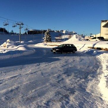 Stage coaching de pilotage sur glace à l'Alpe d'Huez