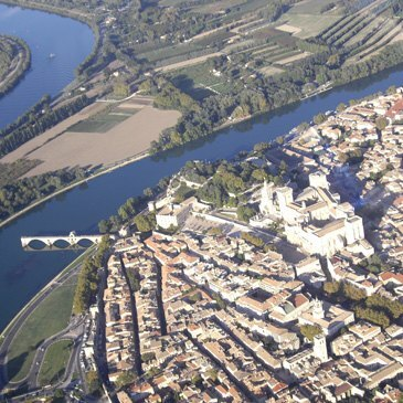 Baptême en Hélicoptère à Avignon