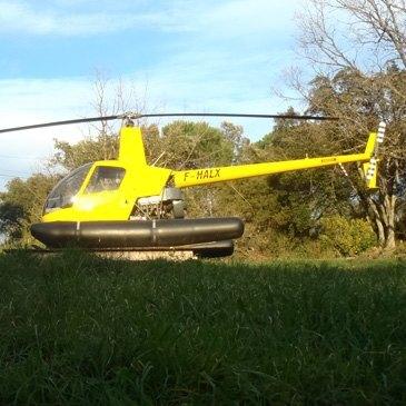 Stage initiation hélicoptère, département Vaucluse