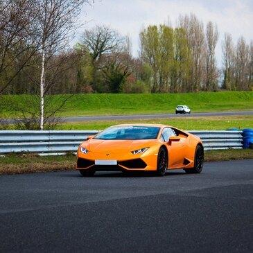 Week-end Pilotage Lamborghini Huracan Circuit de Lohéac - Hôtel Les Palis