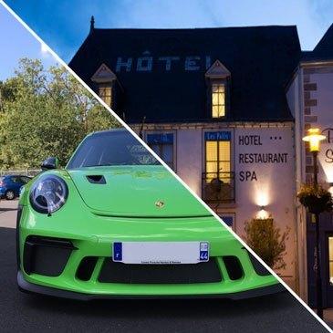 Week-end Pilotage Porsche 991 GT3 RS Circuit de Lohéac - Hôtel Les Palis