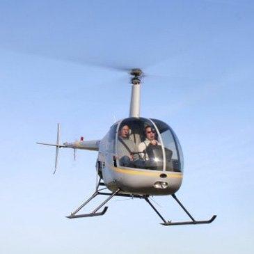 Stage initiation hélicoptère en région Limousin