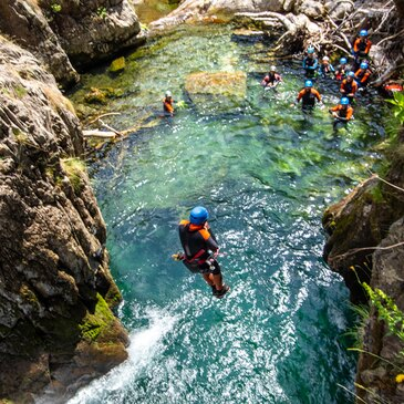 Canyoning - Canyon de l'Artigue (Descente peu sportive)