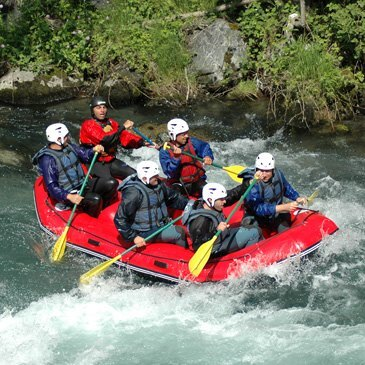 Rafting en région Midi-Pyrénées