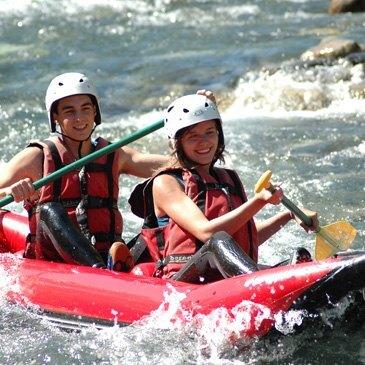 Rafting, département Hautes pyrénées