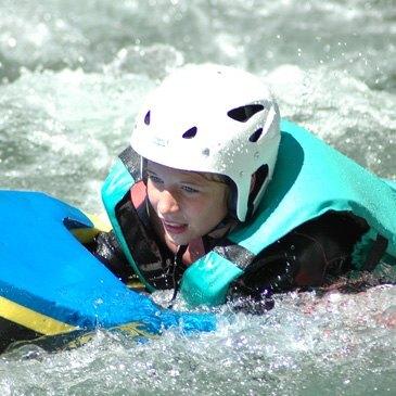 Hydrospeed dans les Gorges de Cadéac (descente sportive)
