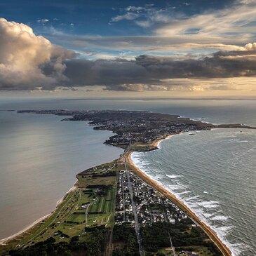 Vol Privatif en Hélicoptère à Belle-Île-en-Mer