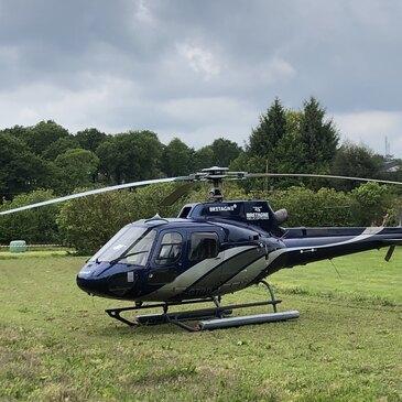 Baptême de l'air hélicoptère, département Morbihan