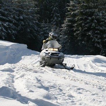 Scooter des Neiges près de Gérardmer