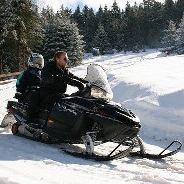 Scooter des neiges en région Lorraine