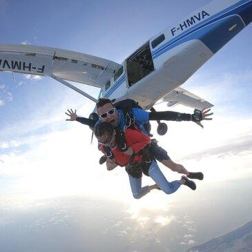 Saut en Parachute Tandem aux Sables d'Olonne
