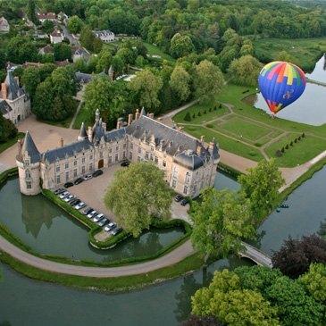 Maintenon, à 30 min de Rambouillet, Yvelines (78) - Baptême de l'air montgolfière