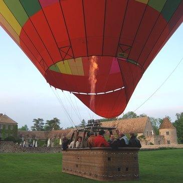 Baptême de l'air montgolfière proche Maintenon, à 30 min de Rambouillet