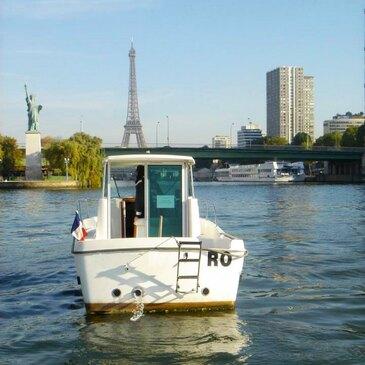 Permis Bateau à Paris Bastille