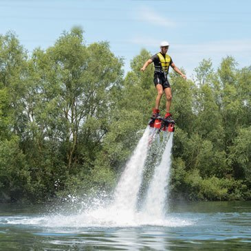 Flyboard, département Oise