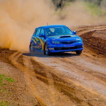 Stage Rallye en Subaru près d'Alès - Circuit de Saint Brès