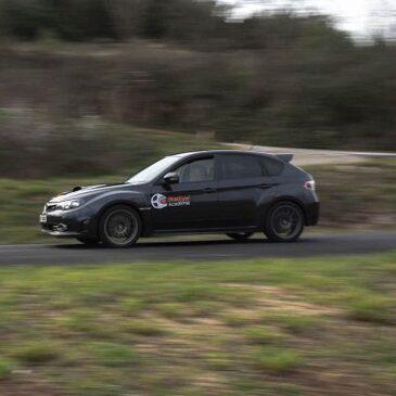 Baptême pilotage rallye en Subaru STI Circuit d'Alès