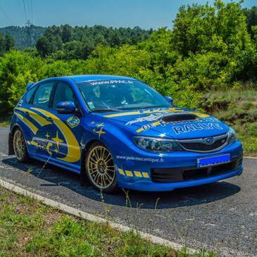 Stage de Pilotage Rallye en Subaru à Alès