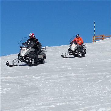 Randonnée en scooter des neiges à Orcières