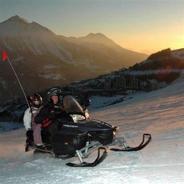 Scooter des neiges, département Hautes Alpes