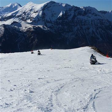 Orcières Merlette, Hautes Alpes (05) - Scooter des neiges