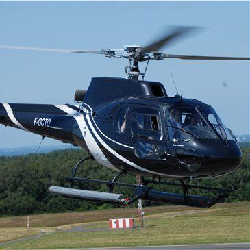Baptême de l'air hélicoptère, département Calvados