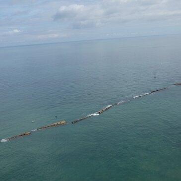 Baptême de l'air hélicoptère proche Plages du Débarquement