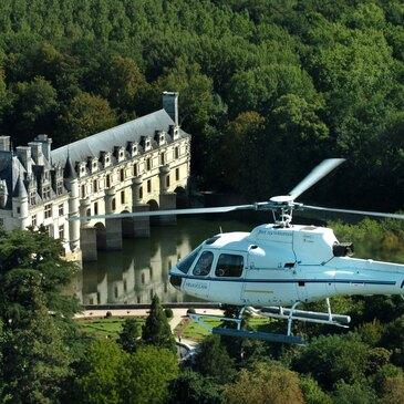 Week-end Vol en Hélicoptère - Châteaux de la Loire