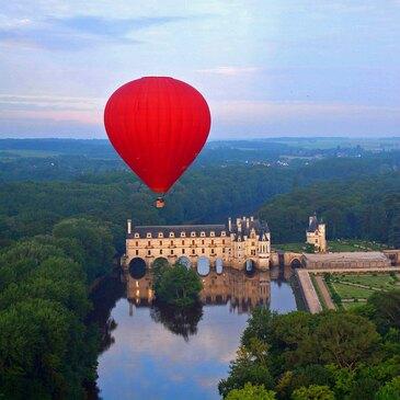 Week-end les Châteaux de la Loire en Montgolfière