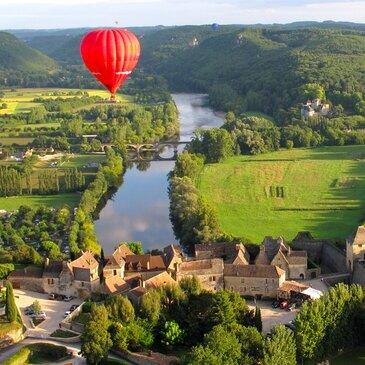 Week-end les Châteaux de la Loire en Montgolfière en région Centre