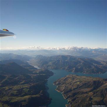 Baptême de l'air en Planeur, département Hautes Alpes