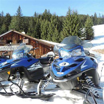 Scooter des neiges, département Haute savoie
