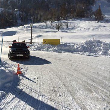 Stage de Pilotage sur Glace en région Rhône-Alpes