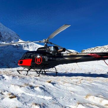 Baptême de l'air hélicoptère, département Ariège
