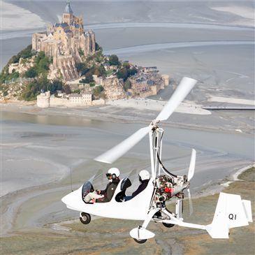 Vol en ULM Autogire - Baie du Mont-Saint-Michel