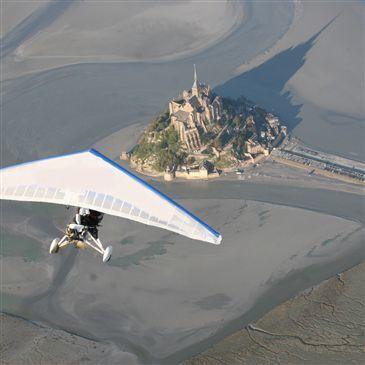Vol en ULM Pendulaire - Baie du Mont-Saint-Michel