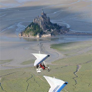 Baptême en ULM et Autogire en région Basse-Normandie