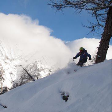 Ski Hors Piste Freeride en région Provence-Alpes-Côte d'Azur et Corse