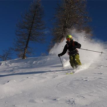 Briançon, Hautes Alpes (05) - Ski Hors Piste Freeride