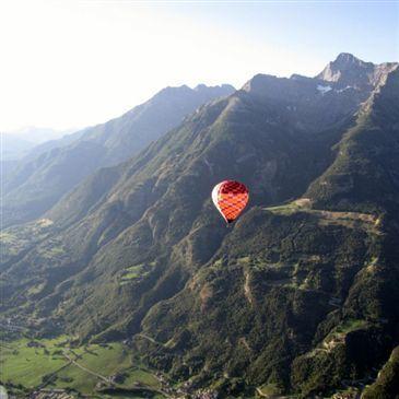 Baptême de l'air montgolfière, département Haute savoie