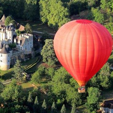 Vol en Montgolfière à Sarlat - La Vallée des châteaux en région Aquitaine